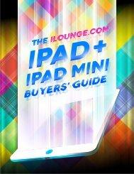 The 2013 iPad + iPad mini Buyers' Guide, From iLounge.com