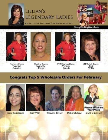 Legendary Ladies - I Love My Unit Site