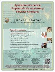 Ayuda Gratuita para la Preparación de impuestos y Servicios ...