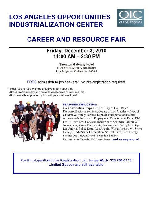 los angeles opportunities industrialization center career