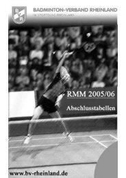 Abschlusstabellen RMM 2005 / 2006