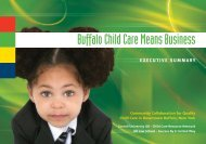 Buffalo Child Care Means Business - ILR School - Cornell University