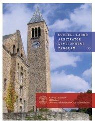 Program Brochure - ILR School - Cornell University