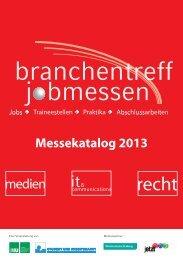 LMU München Branchentreff 2013