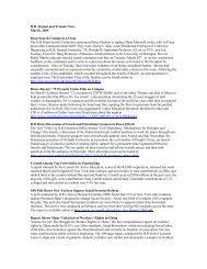 ILR Alumni and Friends News - Cornell University School of ...