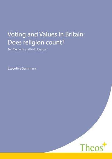 Voting and Values in Britain executve summary FINAL revised 1