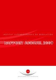 Rapport annuel 2009 - ILR
