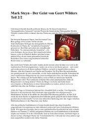 Vorwort des Buchs 2 - deutschelobby