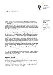 Hent afgørelsen vedr. Fredens Kirke (pdf) - Kulturministeriet