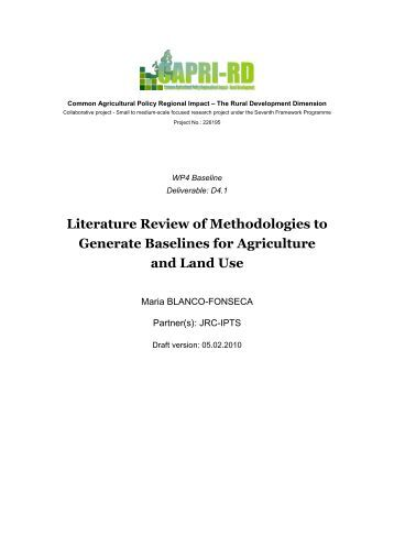 Literature review methodology