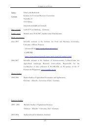 Complete CV for download