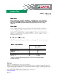 Product Data - Industrial Lubricants & Services Limited
