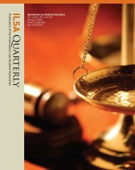 Volume 17, issue 1 - International Law Students Association