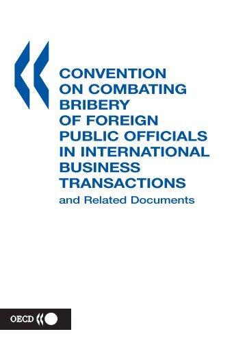 convention on combating bribery of foreign public officials