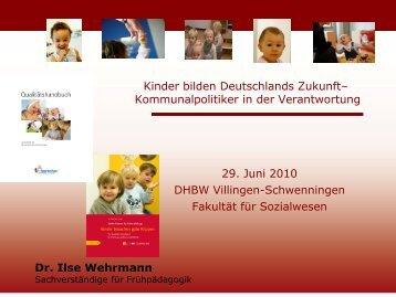 Slides - Ilse Wehrmann