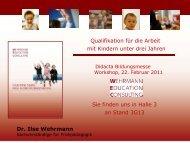Präsentation zum download - Ilse Wehrmann