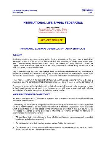 ILS K9 Certificate.pdf - International Life Saving Federation