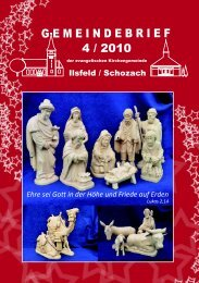 Gemeindebrief Dezember 2010 - Evangelische Kirchengemeinde ...