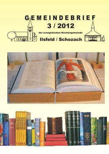 hier - Evangelische Kirchengemeinde Ilsfeld