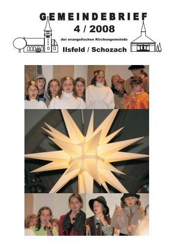 Gemeindebrief - Ausgabe Dezember 2008