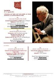 Lucerna - Il Sipario Musicale