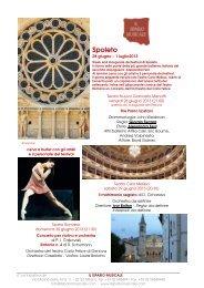 Festival dei due mondi - Il Sipario Musicale