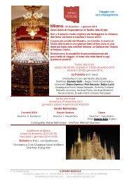 presso il Gran Teatro La Fenice - Il Sipario Musicale