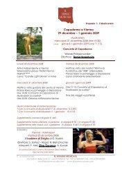 Capodanno a Vienna 29 dicembre – 1 gennaio 2009 - Il Sipario ...