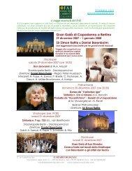 Gran Galà di Capodanno a Berlino - Il Sipario Musicale