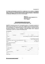 Allegato 2-Fac simile Dichiarazione sostitutiva a corredo della ...