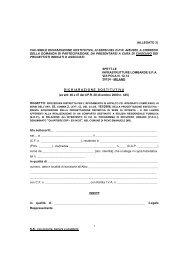 Allegato 3-Fac simile Dichiarazione sostitutiva Progettisti