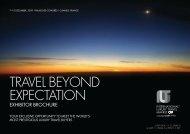 TRAVEL BEYOND EXPECTATION - International Luxury Travel Market