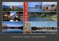 France & Region Presentation - International Luxury Travel Market
