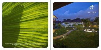 Auriga Singapore • Capella Singapore • 1 The Knolls • Sentosa ...