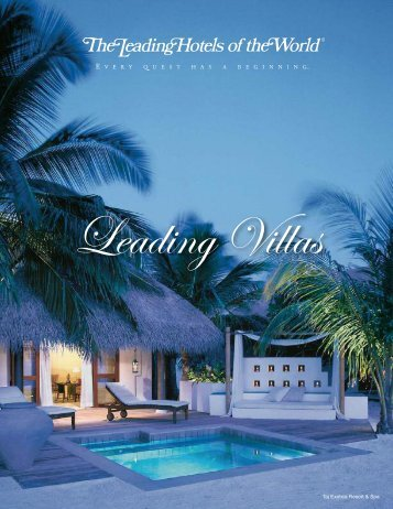Leading Villas - International Luxury Travel Market