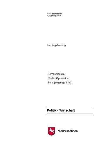 2013.10.30 Gymnasium KC Politik-Wirtschaft Sek I - nline