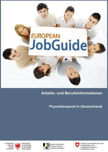 Arbeits- und Berufsinformationen - European JobGuide