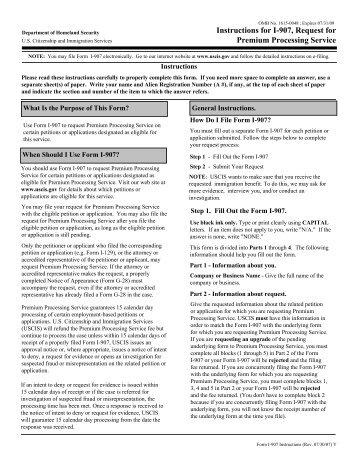 Instructions for Form I-129F, Petition for Alien Fiancé(e) - ILW.com