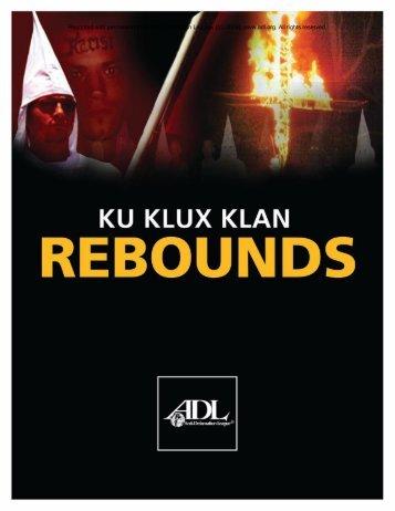 Ku Klux Klan Rebounds - ILW.com