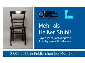 Mehr als Heißer Stuhl! - Innere Mission München