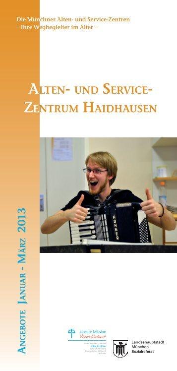 Programmheft für Januar bis März 2013 - Innere Mission München