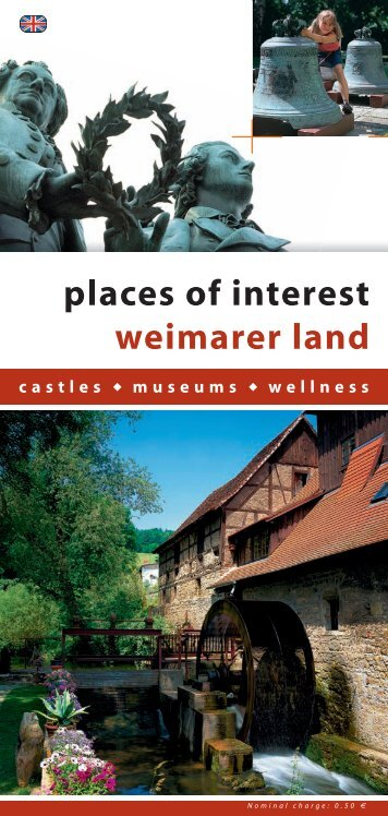places of interest weimarer land