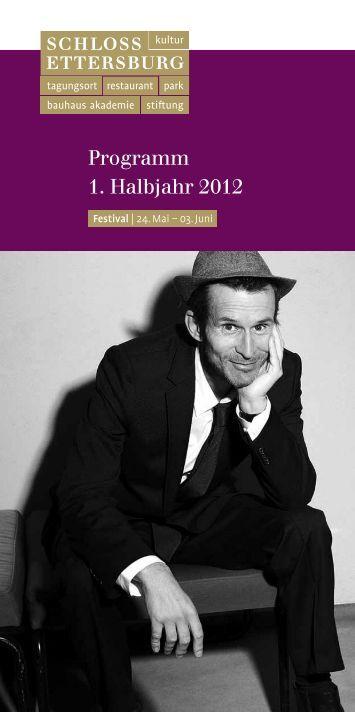 Programm 1. Halbjahr 2012 - Weimarer Land