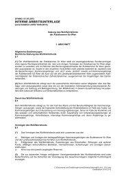 Satzung und Beitragsordnung Juni 2013