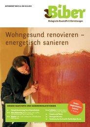 Werbeaktion 2013 - Biber GmbH