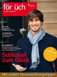 Ausgabe 1 / 2013 - Sparkasse KölnBonn