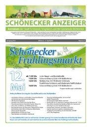 Ausgabe Nummer 4 - Stadt Schöneck