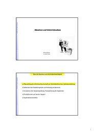 Abnahme und Inbetriebnahme - Information Management