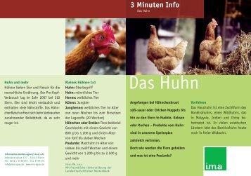 Das Huhn - information.medien.agrar eV