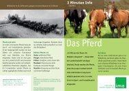 Das Pferd - information.medien.agrar eV